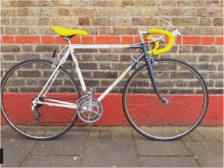 Special offer 220 Raleigh Equippe racer bike