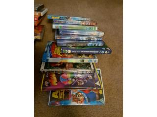 Large bundle of kids Disney DVDs