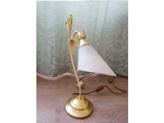 Gold Art Deco Lamp Stylish