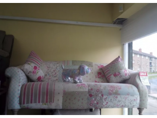 Exdisplay dfs patchwork sofa