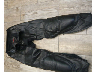 Mens Spidi Leather Trousers size 34-35 waist