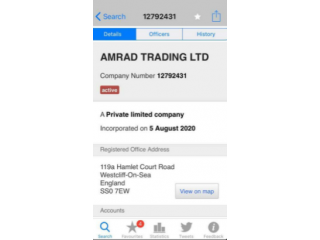 Vat, EORI & PAYE Registered limited company for sale business companies code