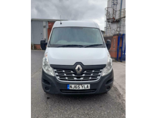 2015 65reg Renault Master Business Plus 2.3 DCI Crew Van White