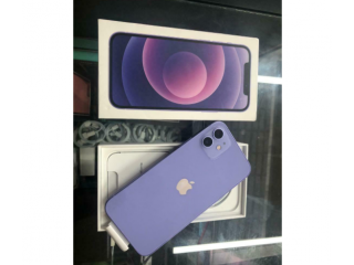 IPhone 12 64GB Unlocked Purple Pristine Condition + Warranty