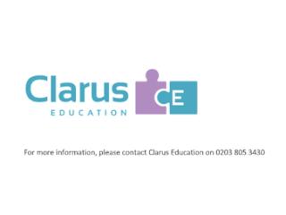 Clarus Education Ltd Autism Support Worker / SEN Teaching Assistant