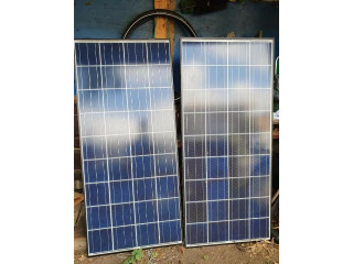 2 X 140W Solar Panels for Boat, Van, Home etc