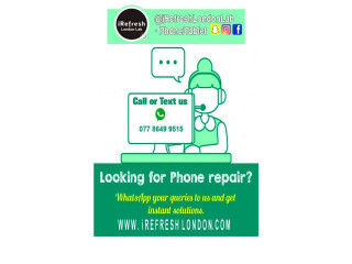 We repair the following: LCD/Display of phone! Digitizer (touch). Cracked or broken glass!
