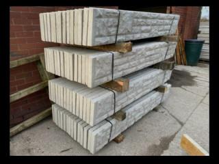 New Concrete Reinforced Base Panels / Gravel Boards