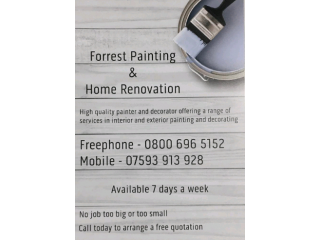 Forest Painting and Home Renovation - Painter and Decorator