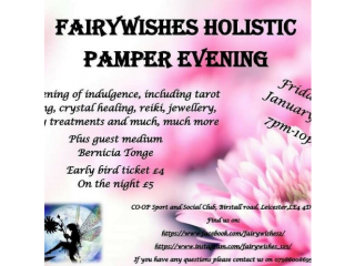 Fairywishes pamper holistic event