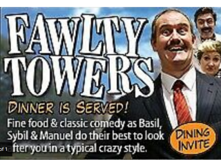 FAWLTY TOWERS COMEDY DINNER SHOW 22/10/2021 WATFORD