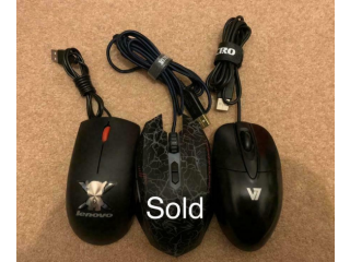 Wires UBS Mouse