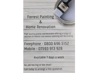 Forrest Painting & Home Renovation - Painter & Decorator