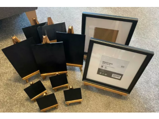 Wedding Decorations Craft Chalkboard Easels and Photo Frames