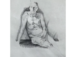 Ever wanted to try life drawing? Experienced male life model available for individuals or groups