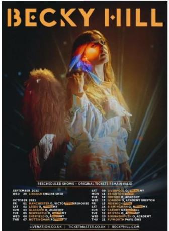 2x-becky-hill-tickets-at-london-o2-brixton-academy-thursday-13th-october-2021-big-0