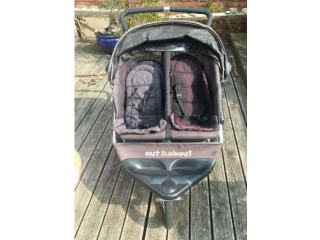 Double Buggy Out n About Nipper 360