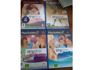 FREE 4x PS2 Singstar games
