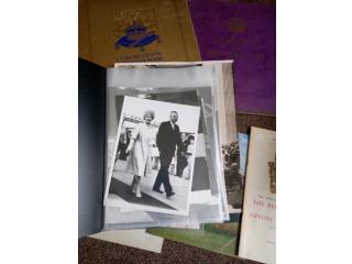 Job lot of Royal books and original press photos