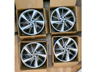 SEAT LEON MK3 FR 18 INCH ALLOY WHEEL SET - GENUINE AUDI VW SKODA 5x112